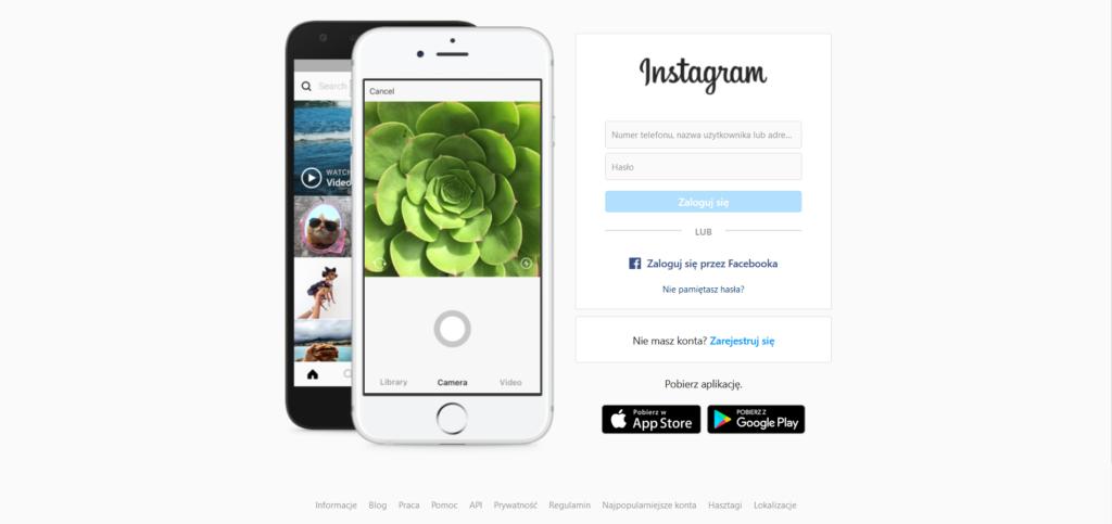 redes instagram y facebook